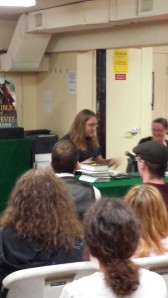 Scott Lynch reading from The Republic of Thieves